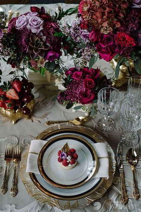 Fall Inspiration: 60 Jewel Toned Wedding Ideas Wedding