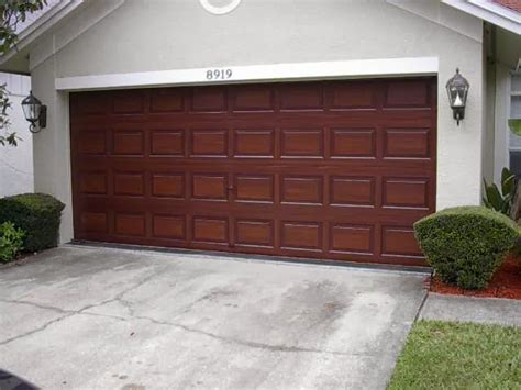how to paint a garage door how to paint wood garage door ayanahouse