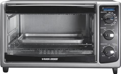Black & Decker 6-slice Toaster Oven Black To1485b