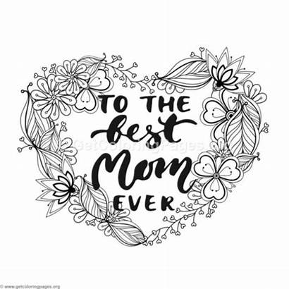 Mom Coloring Pages Ever Worlds Daughter Mother