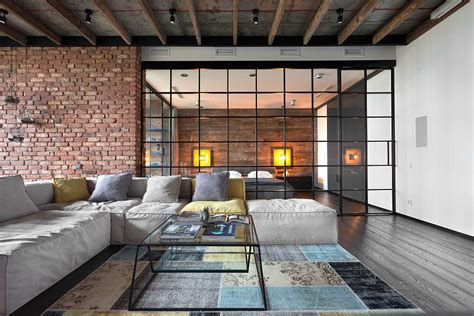 Wall Color For Living Room high end bachelor pad design stunning loft in kiev by