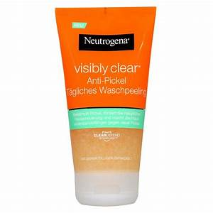 Neutrogena Visibly Clear Waschgel : neutrogena visibly clear anti pickel t gliches waschpeeling 150 ml pzn 99006710 ~ Avissmed.com Haus und Dekorationen