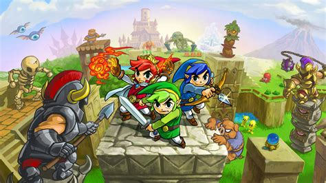 The Legend Of Zelda Tri Force Heroes Review  Expert Reviews