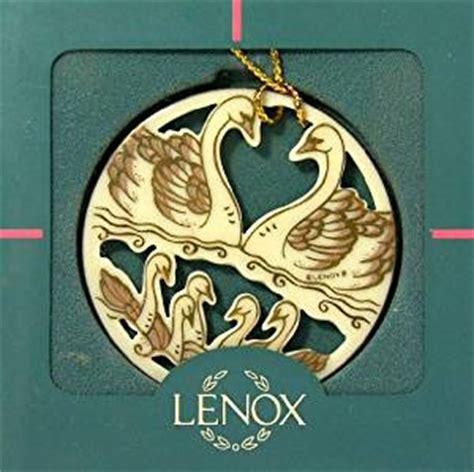 amazon com lenox 12 days of christmas 7 seven swans a