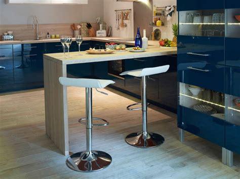 cuisine avec bar table dites oui au bar côté cuisine décoration