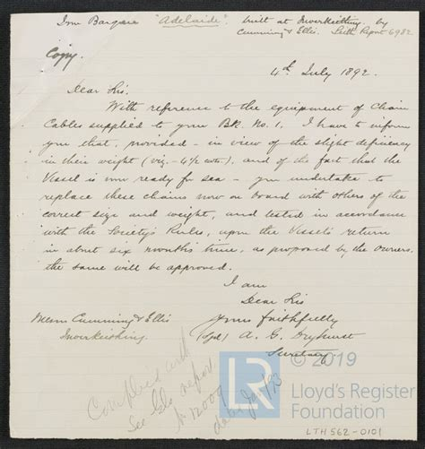 He holds the key to success. Letter To Replace Secretary : Letter To The Membership ...