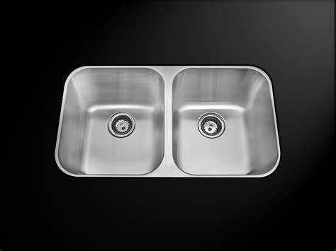 18 x 18 kitchen sink as5050 31 quot x 18 quot x 9 quot 9 quot 18g double bowl undermount