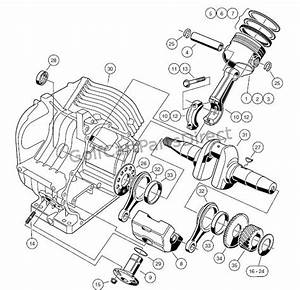 Engine - Fe290 Engine  U2013 Crankcase And Crankshaft