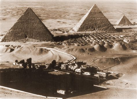 King Hotel Cairo Giza Africa ariel view of mena house hotel and the pyramids of giza