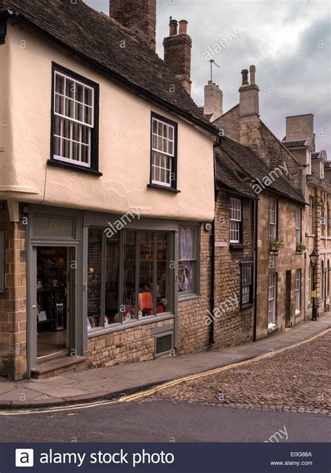 Attractive Traditional Shop Fronts And Buildings