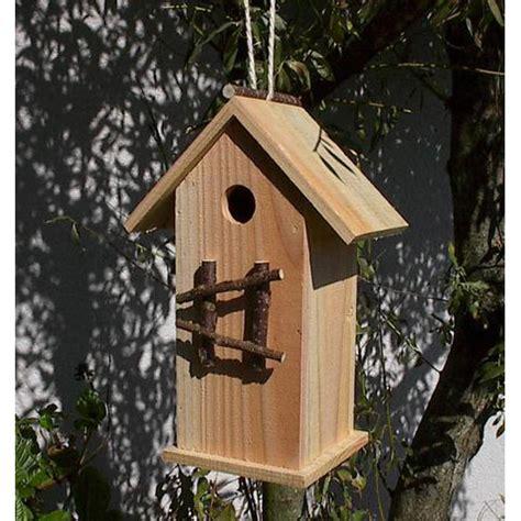 nichoir 224 oiseaux en bois naturel colonne bois poterie