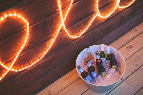 our homemade rope light sign a beautiful mess