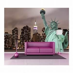 Papier Peint Geant : papier peint g ant d co statue de la libert 250x360cm ~ Premium-room.com Idées de Décoration