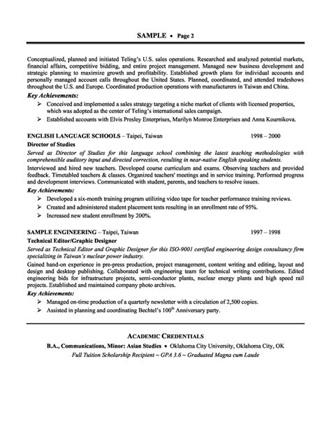 Technical Product Manager Resume by 35 Best Product Manager Resume Sles Expozzer