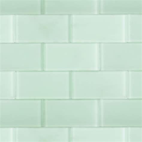 glass tile shop for loft seafoam frosted 3 x 6 glass tiles at tilebar com