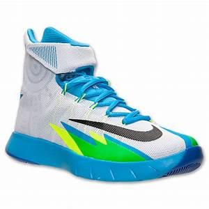 Nike Zoom HyperRev White/ Black/ Vivid Blue - Game Royal ...  Hyperrev