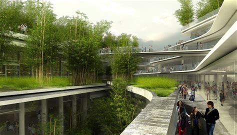 chengdu city  hall wins world architecture festival