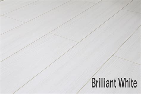 New 8mm Laminate Flooring In White Black Grey V Groove