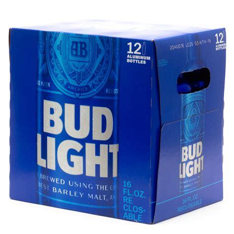 18 pack of bud light price bud light 16oz aluminum bottle beer 12 pack beer