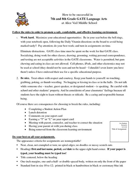 8th grade ela worksheets kidz activities