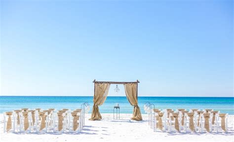 serenity wedding package destin beach weddings  florida