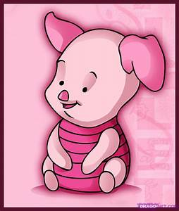 How to Draw Baby Piglet, Step by Step, Disney Characters ...
