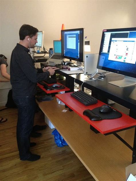 Lifehacker Standing Desk 22 by 1000 Images About Standing Desks Stand Up Desks On