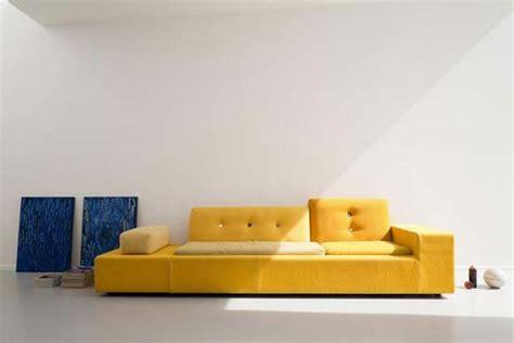 canapé jaune 50 idées déco de canapé