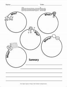 16 Best Images Of Summarizing Worksheets For Students