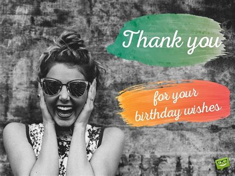 Thank You For Your Birthday Wishes & For Being There