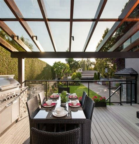 patio glass roof pergolas glassroofpergola