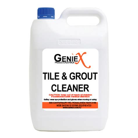 Tile And Grout Cleaner Geniex Products Australia B2b