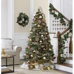jaclyn smith christmas tree smith 6 5 carolina spruce tree kmart