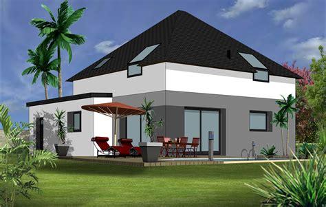 affordable tous nos modles de maisons du belon modele maison moderne toit plat modele facade
