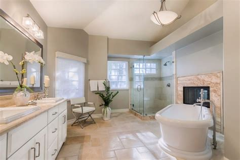 Luxe Modern Living Bathroom Accessories by Gorgeous Transitional Bathroom Interior Designs You Need