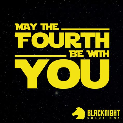 May the Fourth be with you ( Bank Holiday Opening Hours )