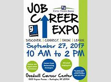 EVENT Job Career Expo Sept 27 – Cabell County Family