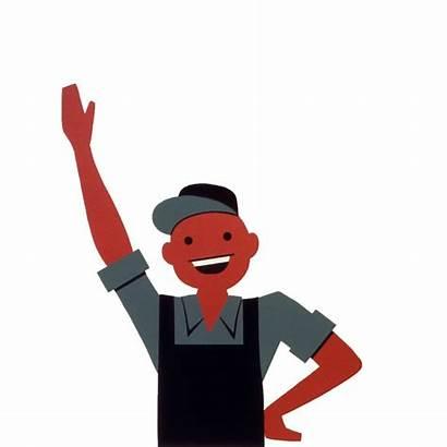 Waving Clipart Person Clip Happy Hello Hi