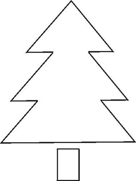 christmas tree stencil free pictures crafts pinterest