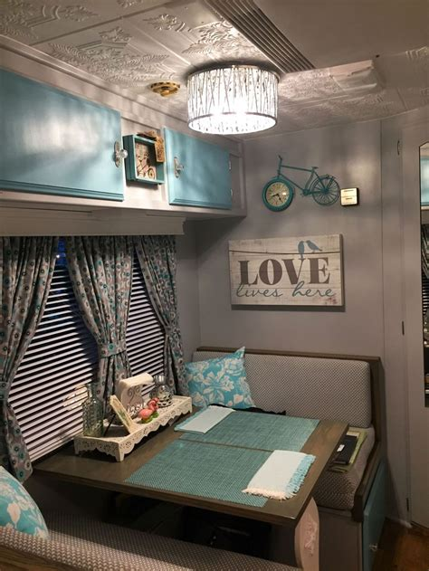 amazing rv camper trailer pup tent   interior design camper remodeled campers rv