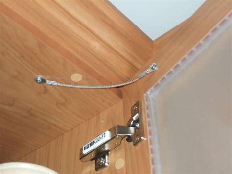 kitchen cabinet door stop kit cabinet door restraint cable mf cabinets