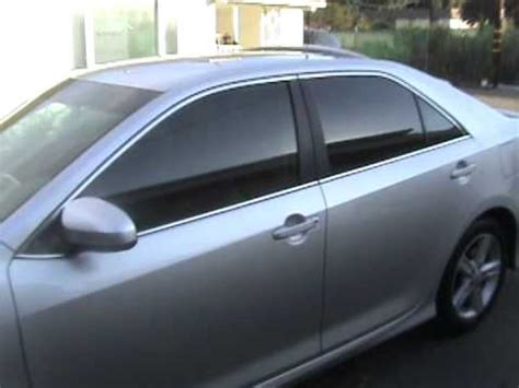 window tinting toyota camry youtube