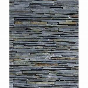 Mur En Pierre Interieur Leroy Merlin : plaquette de parement stonepanel fine lame en pierre ~ Dailycaller-alerts.com Idées de Décoration