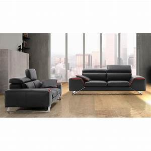 Canape design italien en cuir verysofa direct usine 25 for Canapé en cuir design