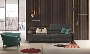 Gamma arredamenti bellevue leather sofa creative furniture for Sofa couch bellevue