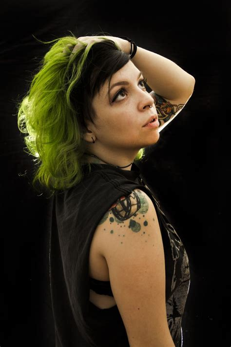 Black And Lime Green Hair Best And Hottest Hair Styles