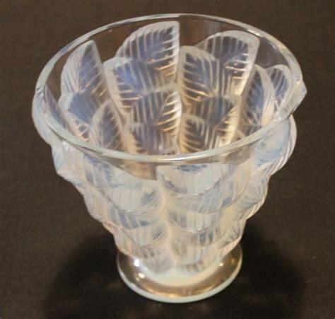 deco glass l deco lalique glass vase