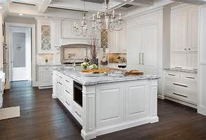 simple white kitchen littlefield 427 phelps ave and design With best brand of paint for kitchen cabinets with wall art chandelier
