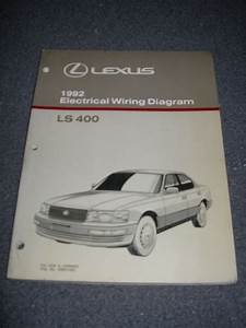 1992 Lexus Ls400 Electrical Wiring Diagram Service Manual