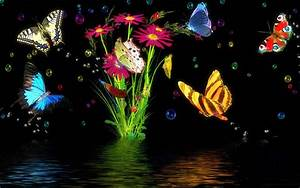 Free Live Wallpaper Magic Butterfly